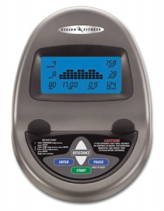 Vision X1500HR Cross Trainer Console