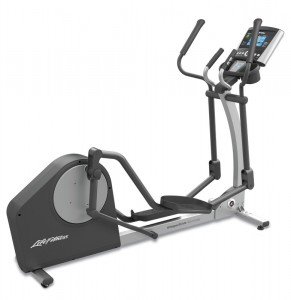 Life Fitness X1 Cross Trainer Track Console